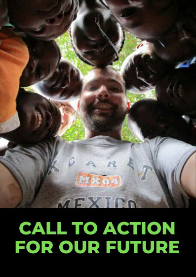 Poster Call For Action Green