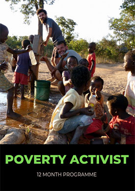 poverty activist 12months joincicd