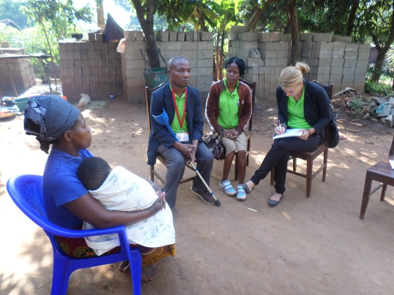 Working in the community – advocacy of people with disability about their rights