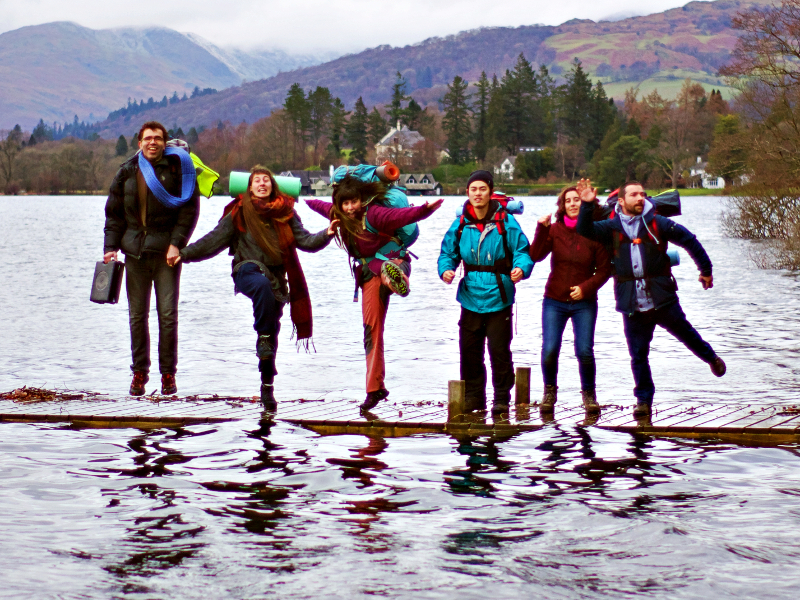 Survival weekend at Lake Windermere!